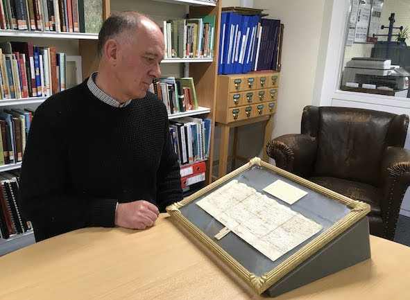 Rare piece of Welshpool history saved
