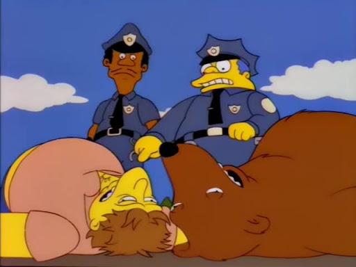Los Simpsons 7x23 Y Dónde Está el Inmigrante?