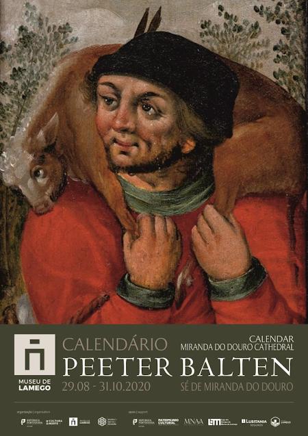 CALENDÁRIO de PEETER BALTEN em exposição no Museu de Lamego