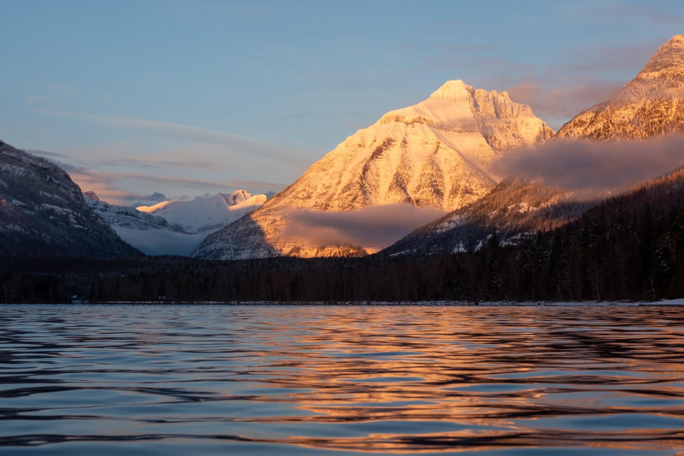 Sunset on Cannon Mountain