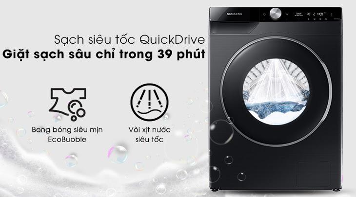 công nghệ mới công nghệ sạch siêu tốc QuickDrive của máy giặt samsung