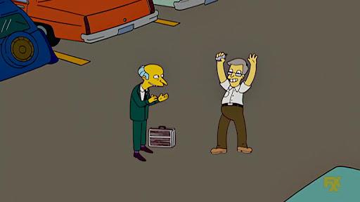Los Simpsons 19x10 Rafa Gorgory electivo