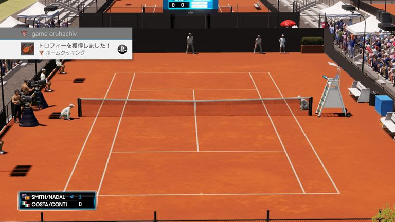 AOテニス2 トロフィー「ホームクッキング」