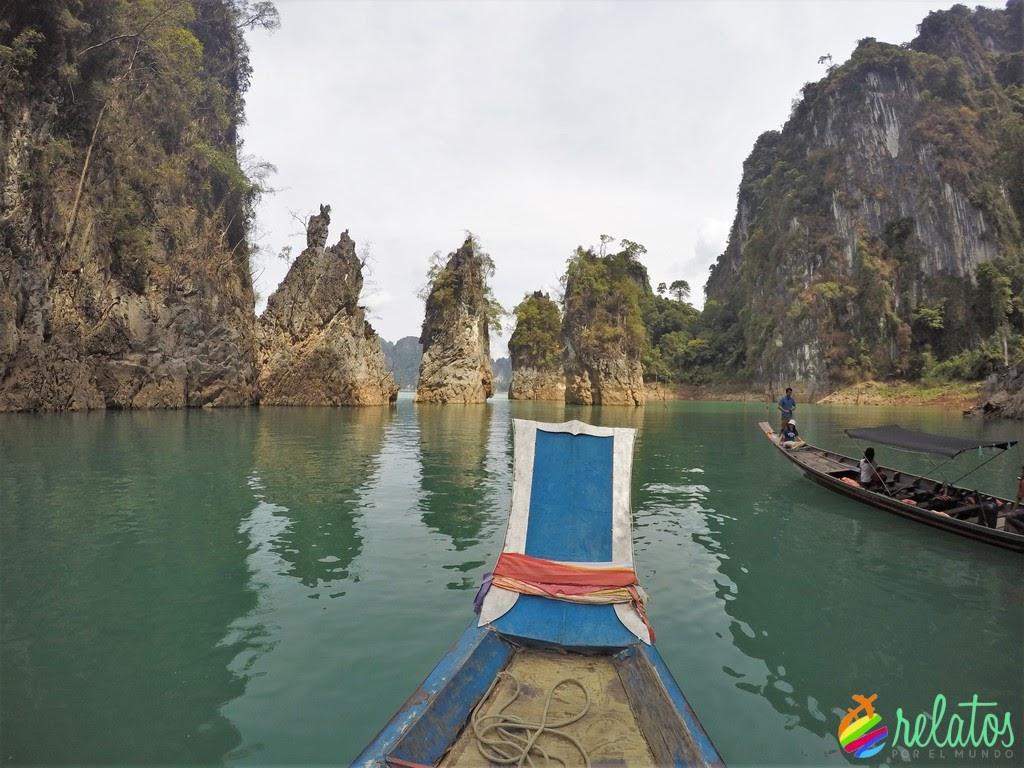 Formaciones Rocosas Khao Sok