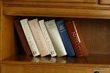 biblioteczka pokoju Willi Nestor
