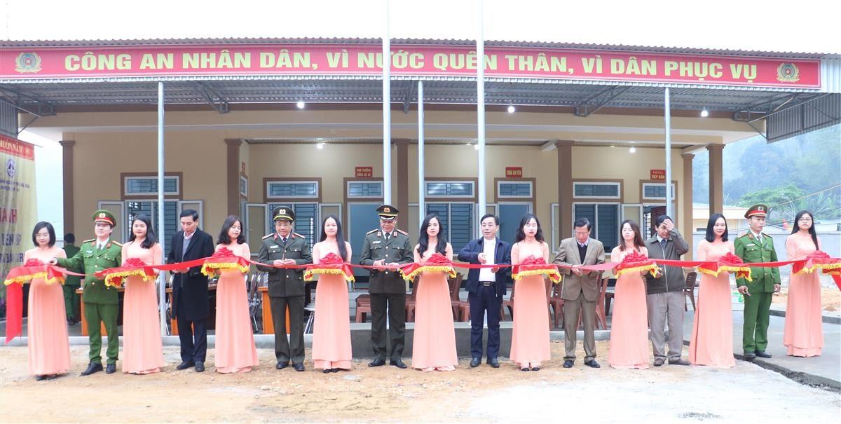 Khánh thành trụ sở Công an xã Liên Hợp, huyện Quỳ Hợp