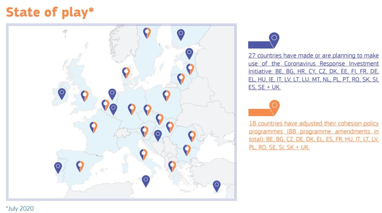Coronavirus Response Investment Initiative - Photo credit: European Commission