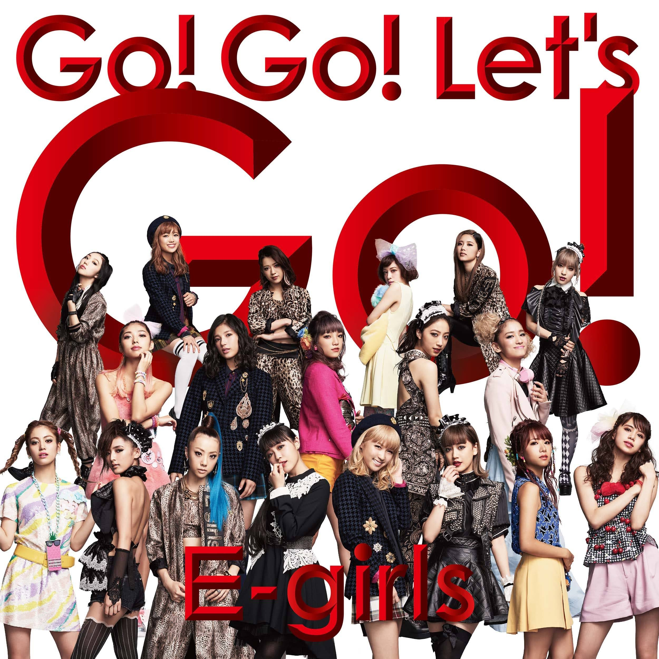 "Capa do single ""Go! Go! Let's Go!"" – CD+DVD Edition."