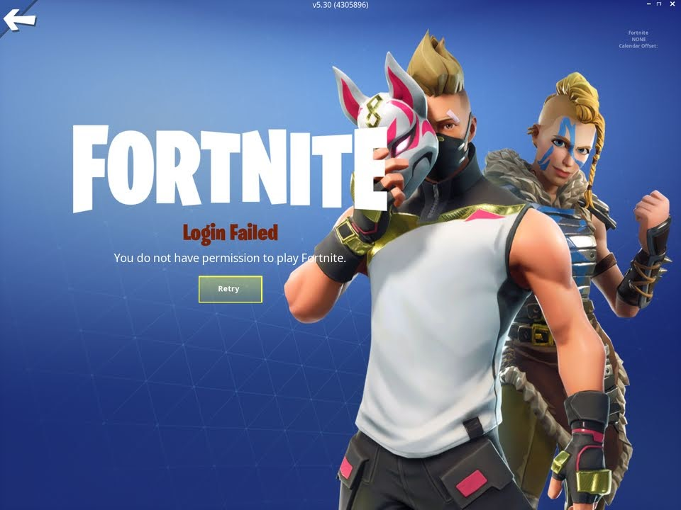 "Solved: How do I fix Fortnite Login Failed ""You do not have permission to play Fortnite""?"