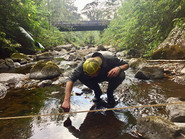 monitoreo del agua EcoGuardianesCR