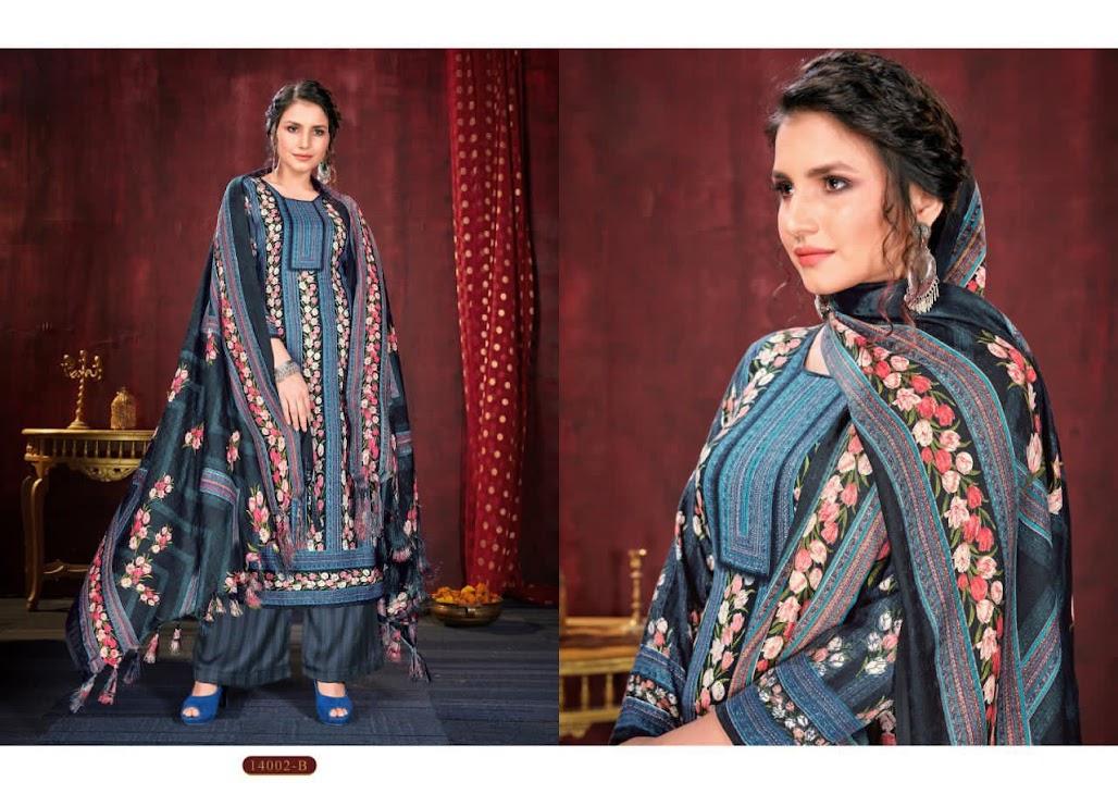 Shahnaaz Hariks Pashmina Dress Material Manufacturer Wholesaler