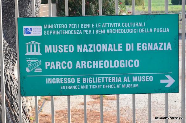 muzeum ruin miasta Egnazia