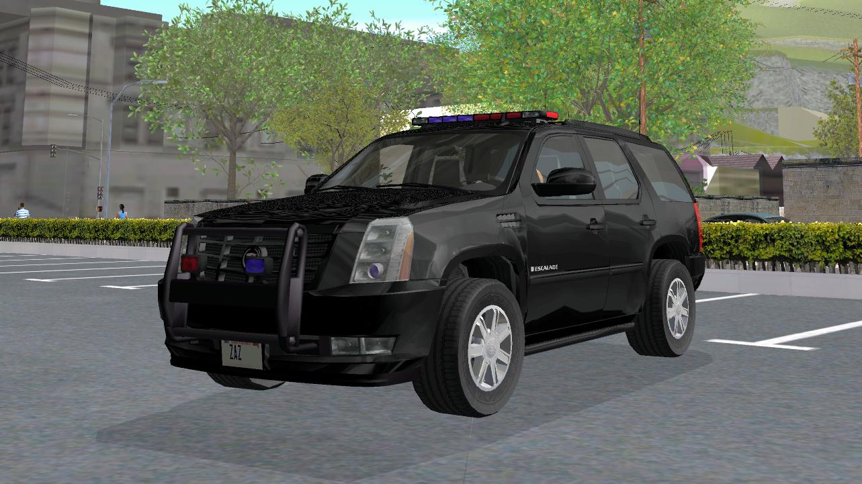【車Mod】キャデラック エスカレード FBI 2011