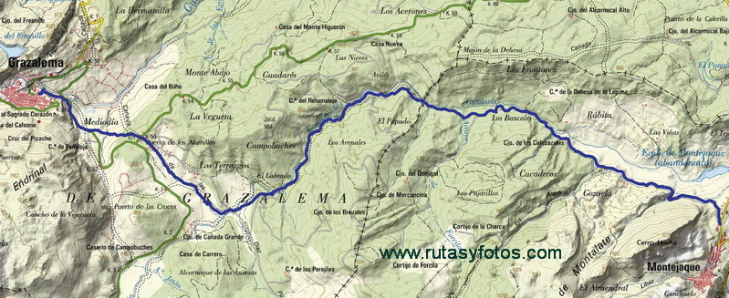 Montejaque - Grazalema por Campobuche