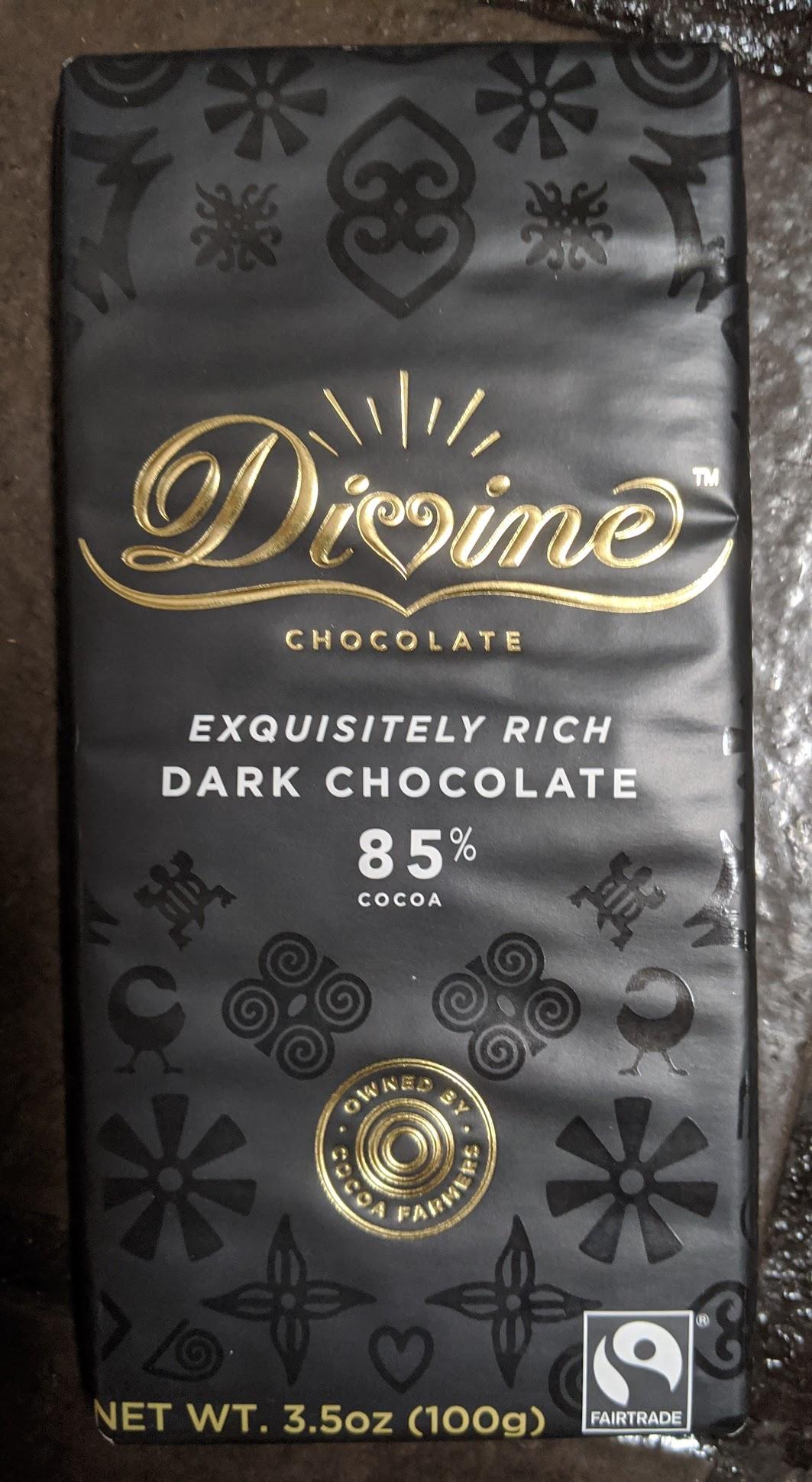 85% divine bar