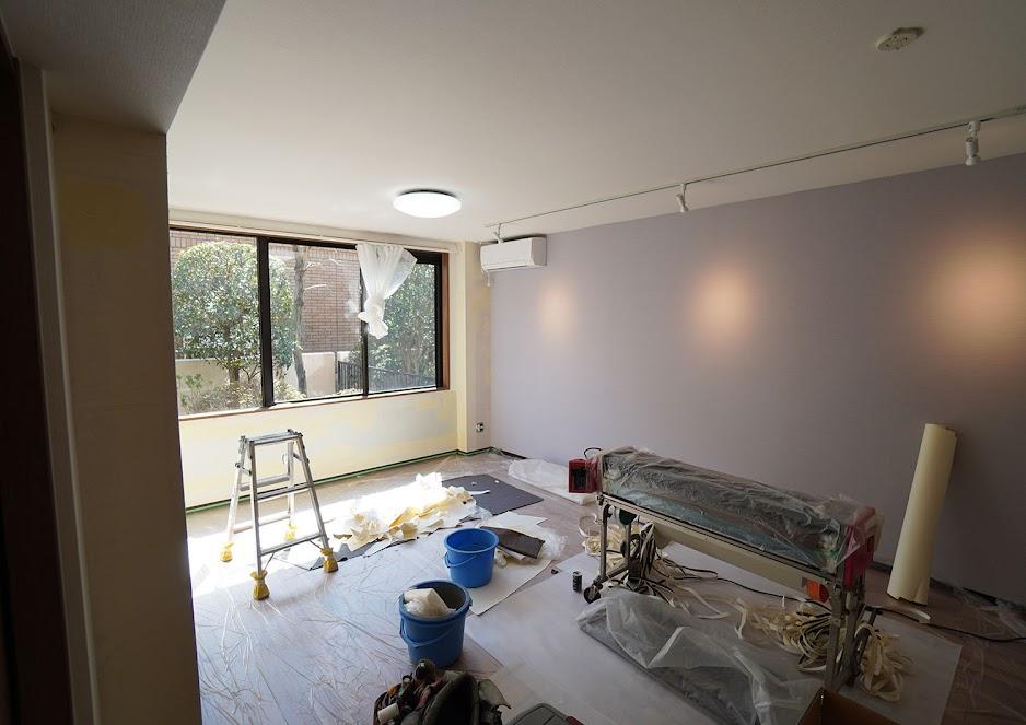 20200313成城のマンション・施工中