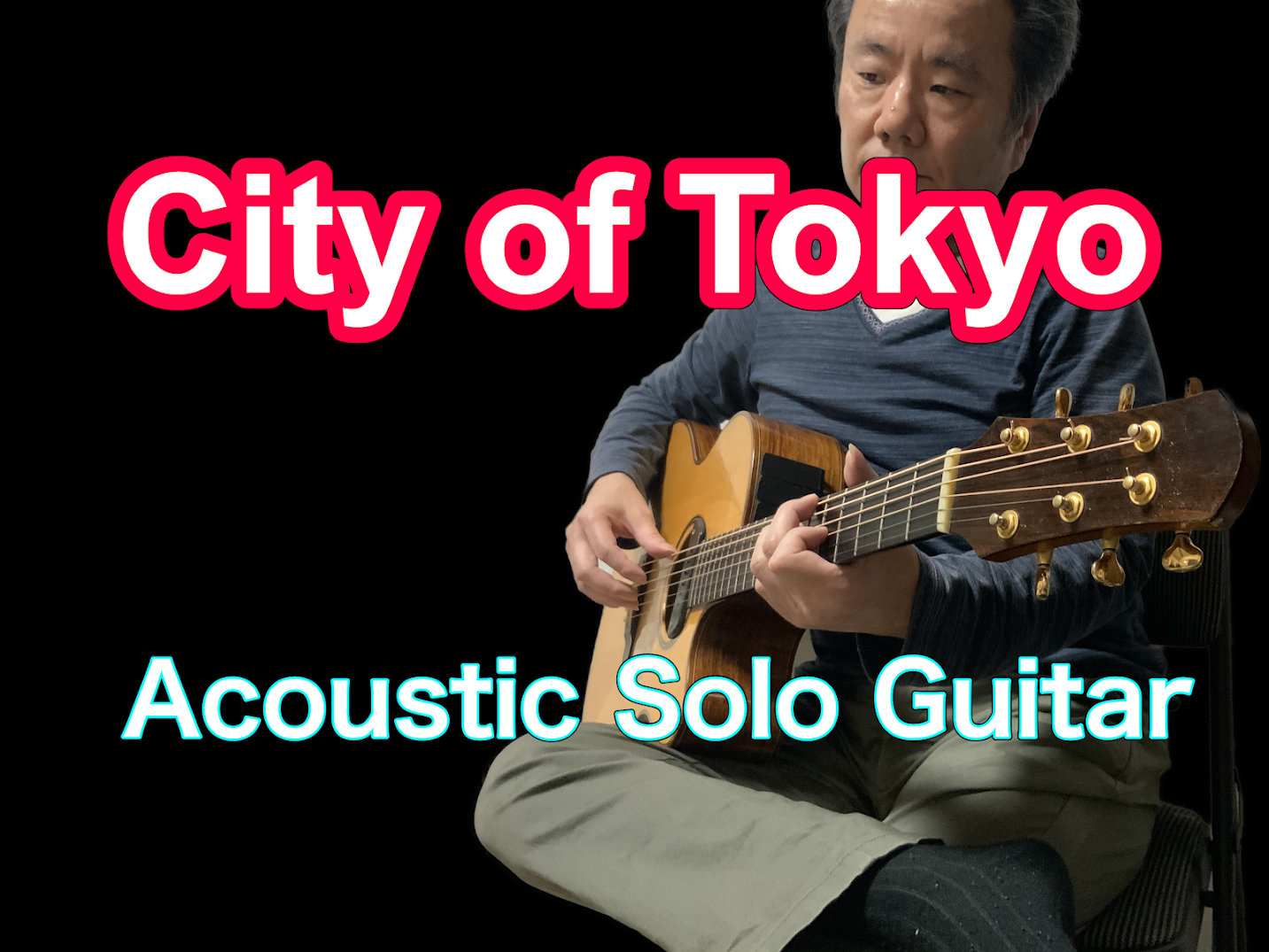 City Of Tokyo-Acoustic Solo Guitar