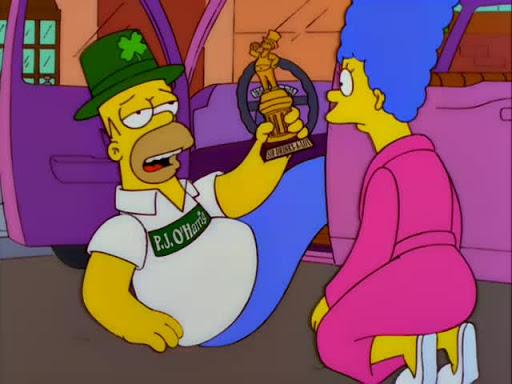 Los Simpsons 10x16 Un espacio para Lisa