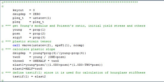 UPF (User Programable Features) для управления решателем