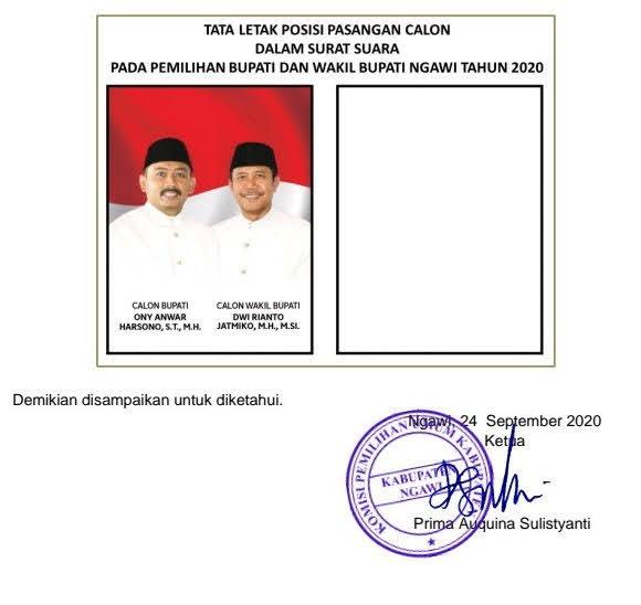 Komisi Pemilihan Umum Ngawi Jawa Timur
