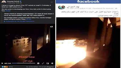 Hoaks Video Terbaru 'Hujan' Rudal Hamas ke Israel