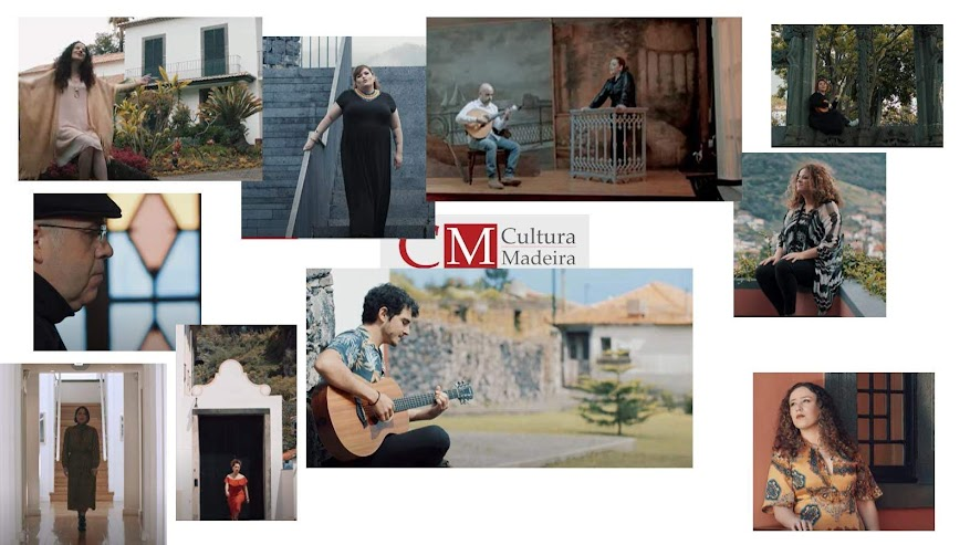 Madeiran musicians at iconic locations