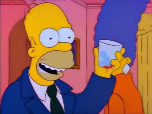 Los Simpsons 2x20 La guerra de los Simpsons