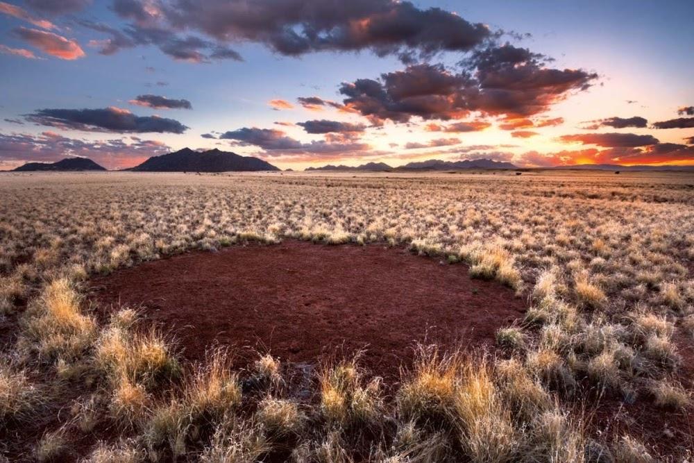 Os misteriosos círculos de fadas da Namíbia