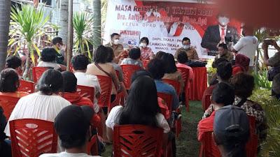 Reses Ketua DPRD Manado, Warga Antusias Sampaikan Aspirasi