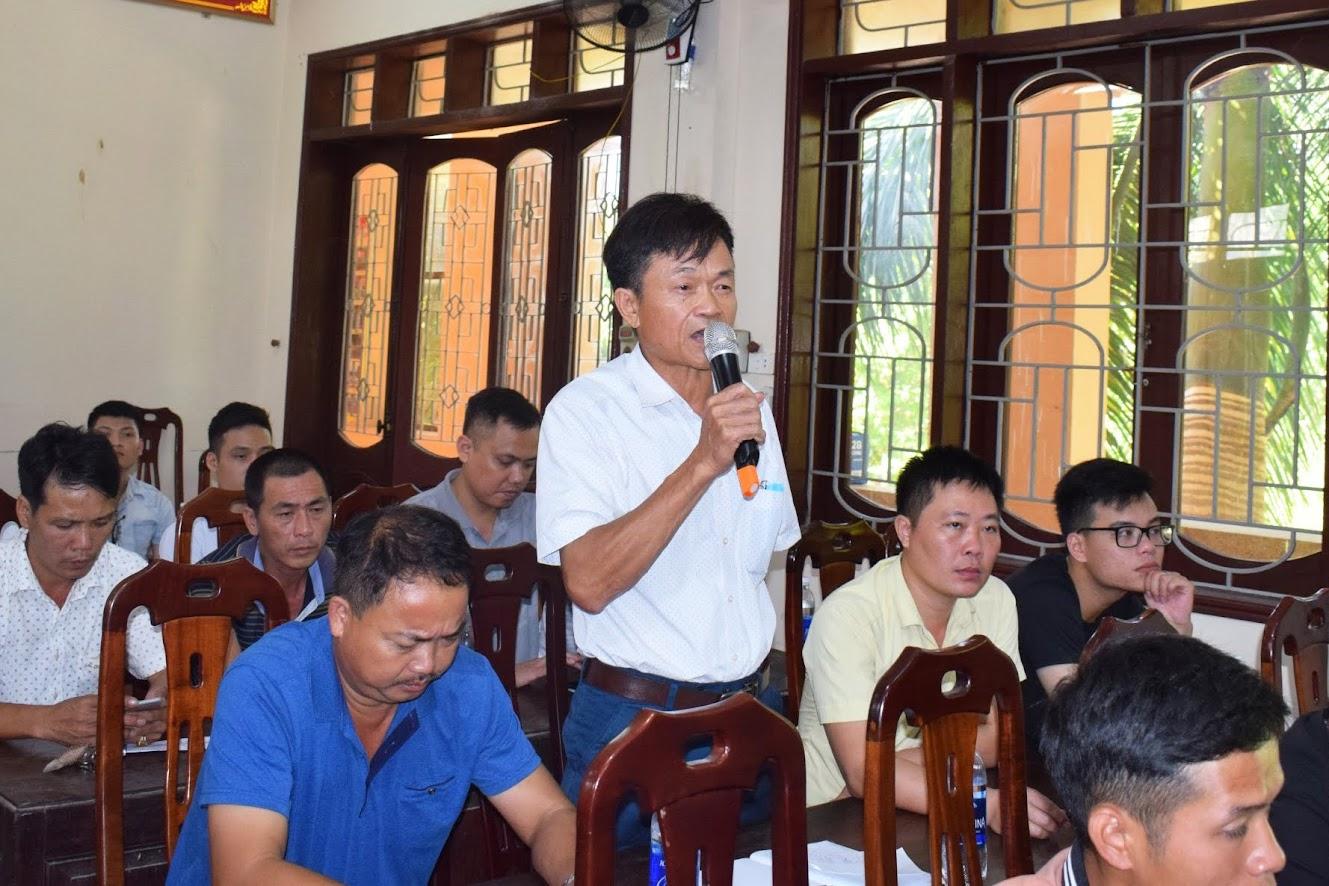 Hội nghị đã tiếp thu nhiều ý kiến đóng góp của các cá nhân, doanh nghiệp về công tác CCHC.