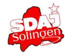 Logo SDAJ Solingen.