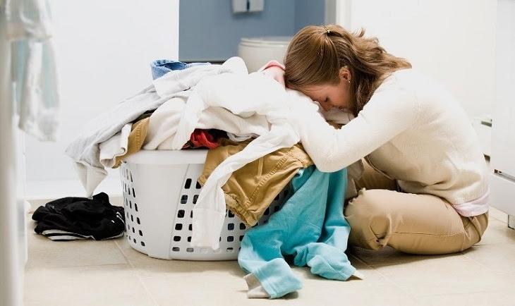 quần áo bị xơ vải khi giặt máy