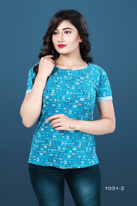 Gati 1031-2 Kavya Girls Tshirt Manufacturer Wholesaler