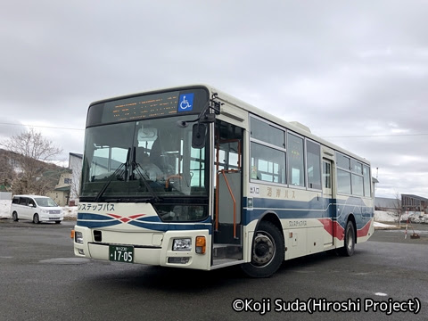 沿岸バス「11 豊富羽幌線」 1705_01