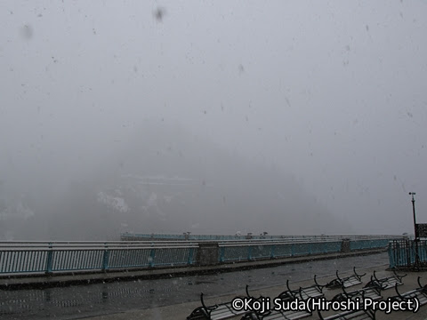 関西電力「関電トンネル電気バス」 黒部ダム_02