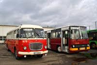 Jelcz RTO+P01 #1679+1813 i Ikarus 280 #1545