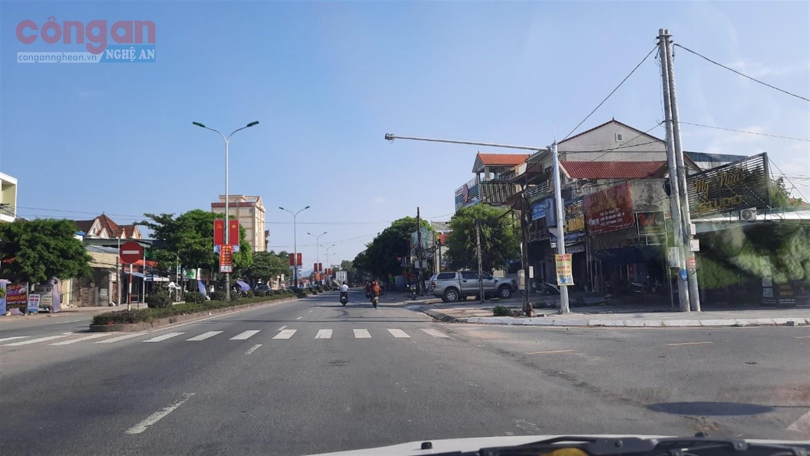 Một điểm lắp camera phạt nguội trên Quốc lộ 1A