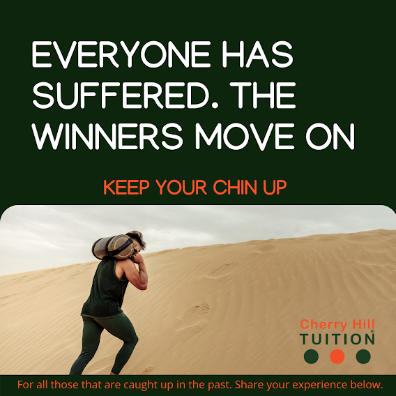 Keep your chin up. Everyone has suffered, the winners move on. In life we are guaranteed to fail, some more than once, but it is what you do when you are down that differentiates the losers to the winners. Get back up and move.
