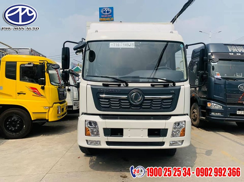 dongfeng 7 tấn thùng container