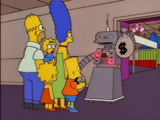 Los Simpsons 8x11 El turbio y oscuro mundo de Marge Simpson