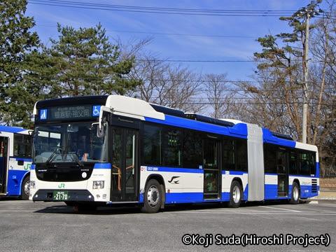 JRバス関東 白河 日野ブルーリボン連節バス 2170