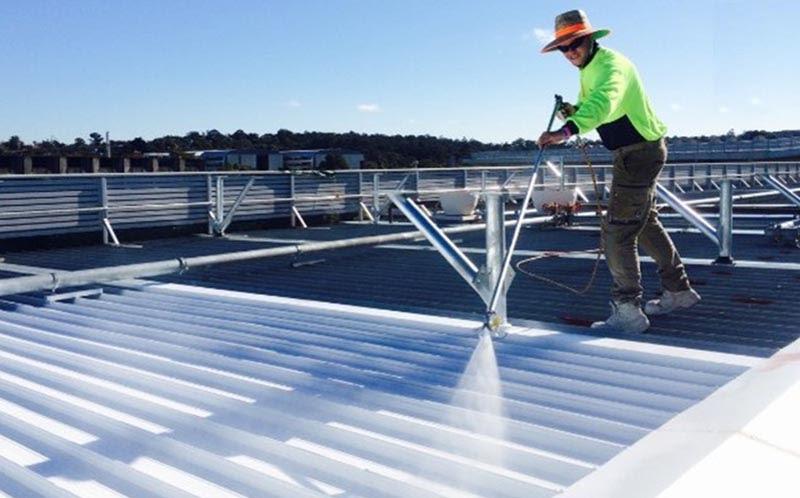 Làm mát nhà xưởng bằng sơn cách nhiệt cho mái