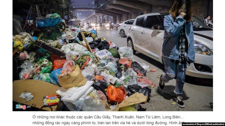 Hà Nội lại… khủng hoảng rác