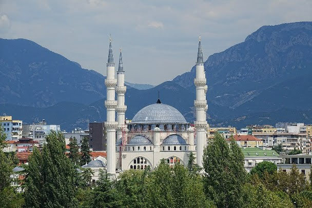 The Great Mosque of Tirana