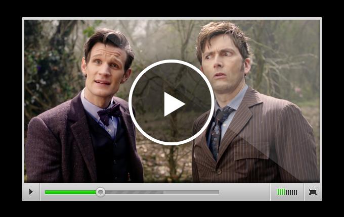 Эпизод, в котором Одиннадцатый Доктор изучает работу портала во времени и встречает свою предыдущую реинкарнацию – Десятого Доктора