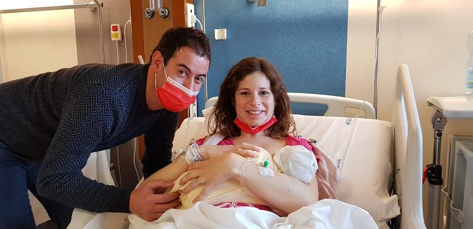 Matilde prima nata Ospedale Belluno 2021
