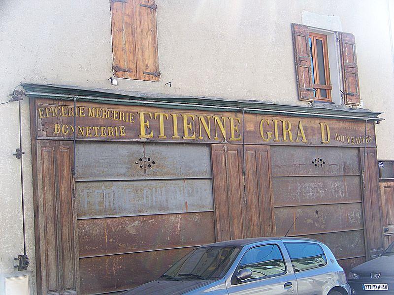 Etienne Giraud à Lancey