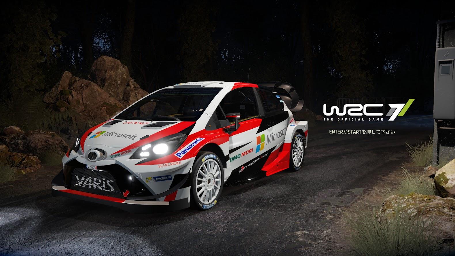 PC - WRCのゲームで遊んでみよう