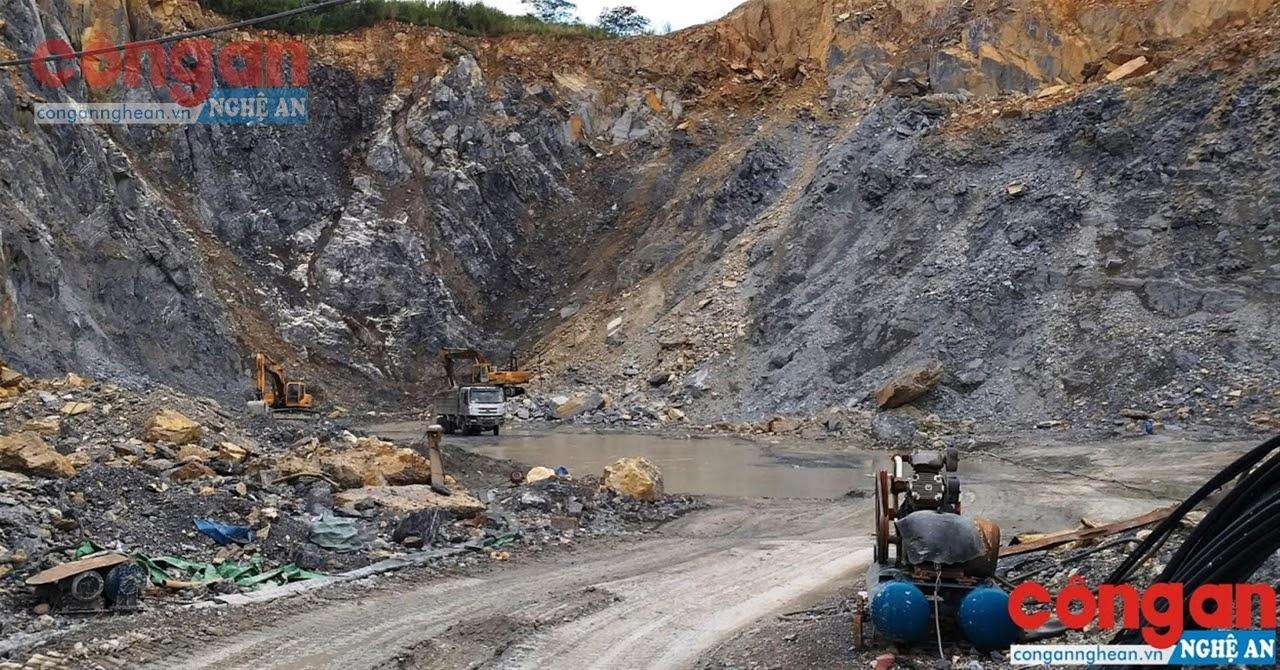 Công tác đảm bảo an toàn vệ sinh lao động tại nhiều mỏ khai thác khoáng sản trên địa bàn tỉnh vẫn còn tồn tại nhiều bất cập