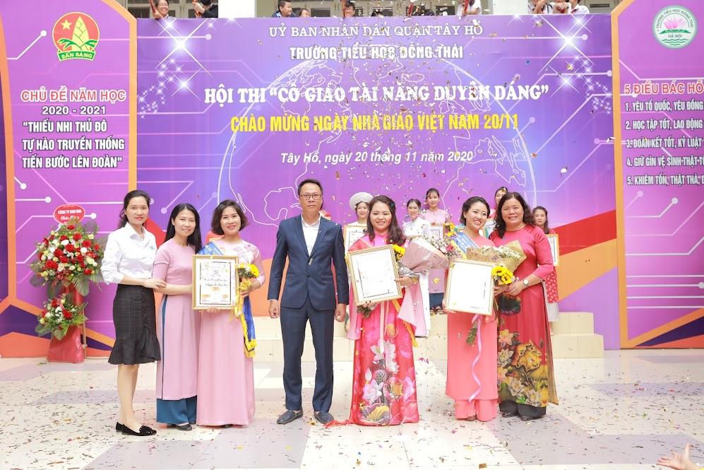 Giải Nhất thuộc về cô giáo Phạm Kim Nhung, GVCN đến từ Khối 5